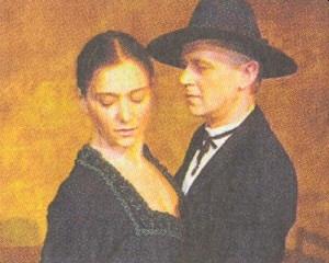 Eva Sixtová v hlavní roli jeho hry Emerenz (viz i Emerenz Meierová)
