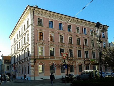 Bývalá školní budova v českobudějovické Kněžské ulici