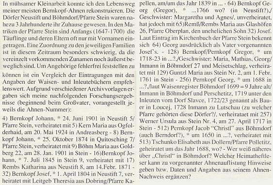 Tady je řada jeho mužských předků zpátky do 17. století ve farnosti Polná