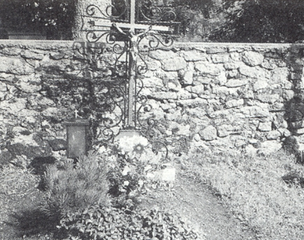 Jeho hrob ve Svatém Tomáši