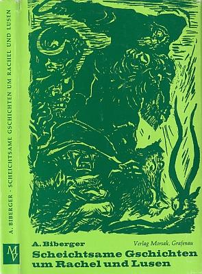 Obálka (1969) jeho knihy s kresbou Josefa Frutha (nakladatelství Morsak, Grafenau)
