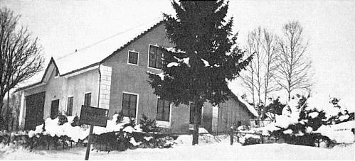 Bieblův dům v Houžné v roce 1943