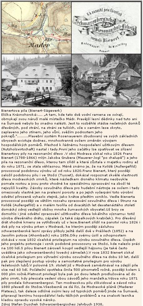 O jeho modravské pile v překladu textu Stefana Duscheka