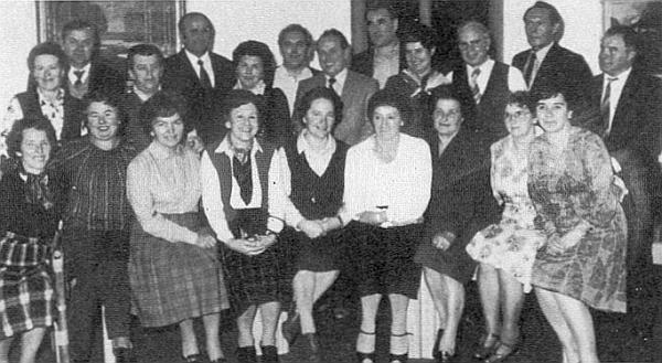 První setkání rodáků z Pohoří v Bad Aibling roku 1980 - v září 2010 se konalo v Karlstiftu nyní už třicáté v pořadí