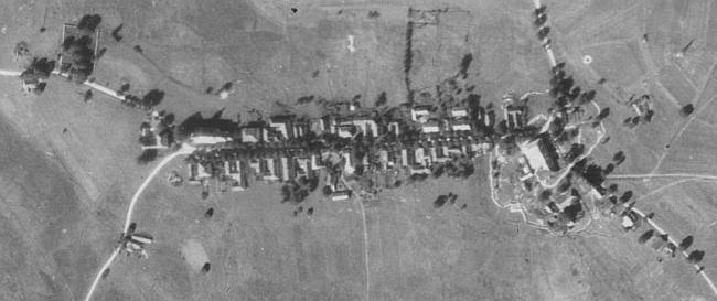 Pohoří na Šumavě na leteckých snímcích z let 1952 a 2008 (viz i Margarete von Buquoyvá, Ernst Egermann a Herma Halbhuberová)