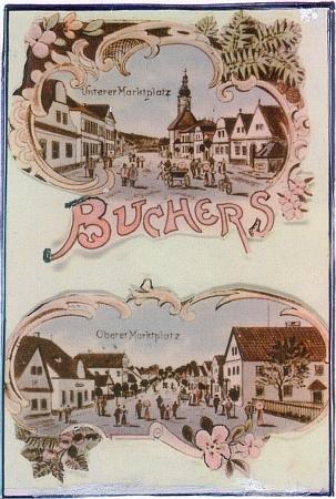 """Stará pohlednice svědčí o tom, že Pohoří mělo kdysi své """"dolní"""" (s kostelem) i """"horní"""" náměstí"""
