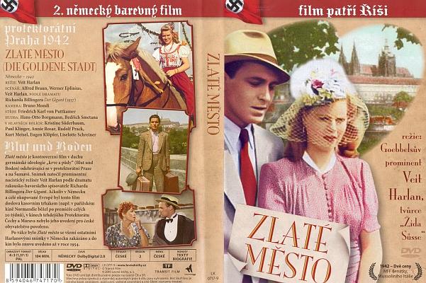 Obálka DVD distribuovaného v ČR (2010, Levné knihy)