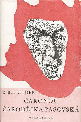 Obálka (1941) Jiřího Trnky kmelantrišskému vydání jeho dvou her, uvedených v Národním divadle v Praze (hlavní roli v té druhé z nich sehrála Olga Scheinpflugová, vdova po Karlu Čapkovi)