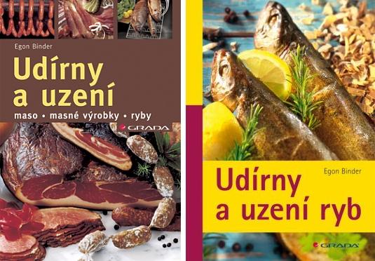 Obálky (nakladatelství Grada 2005 a 2011) dvou jeho knih o uzení, které byly přeloženy do češtiny