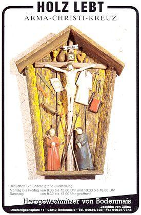 """""""Arma Christi"""" na objednávku u řezbáře z """"Boží Mysli"""" (""""Hergottschnitzer von Bodenmais"""")"""