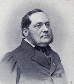 Adalbert Stifter na snímku vídeňského fotografa Ludwiga Angerera (1827-1879), rodáka ze dnes slovenských Malacek, údajně pořízená v roce 1863 a reprodukovaná vBindtnerově knize