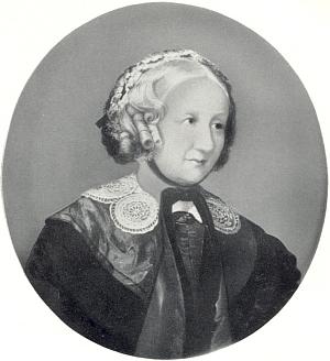 Na olejomalbě Carla von Binzer