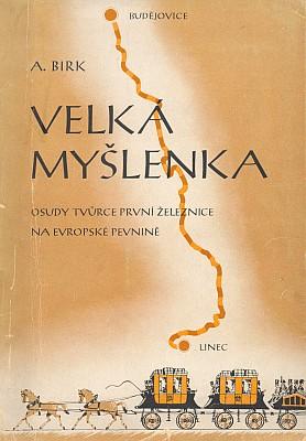 Obálka (1944) českého překladu jeho knihy zčasu, kdy se Budějovice psaly bez přívlastku, vydané vnakladatelství Orbis v Praze