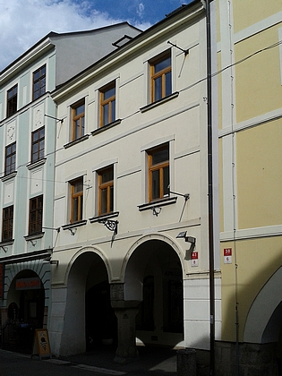Dům čp. 8 v Krajinské ulici v Českých Budějovicích