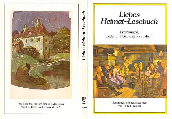 Obálka (1983) antologie i s jeho verši vydané Helmutem Preußlerem v Norimberku