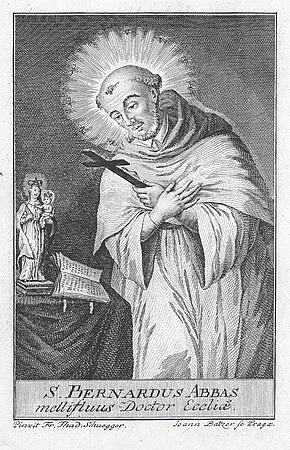 Titulní list a frontispis publikace (1859), vydané jeho zásluhou v Linci i s dějinami vyšebrodského kláštera
