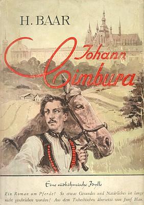 Obálka Blauova překladu románu Jan Cimbura (1941) vydaného nakladatelstvím Hanns Horst Kreisel v Lipsku