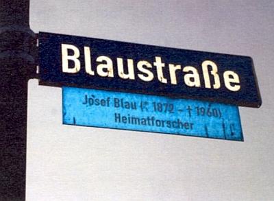 Po něm se jmenuje ulice v Neuhausu, části obce Offenberg v dolnobavorském okrese Deggendorf