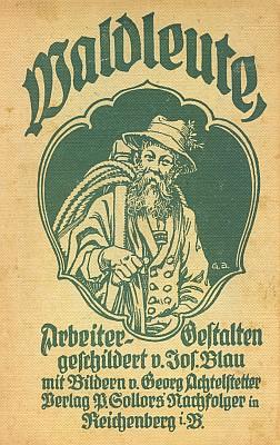 Obálka (1922) s vinětou Georga Achtelstettera (nakladatelství Paul Gollors Nachfolger, Liberec)