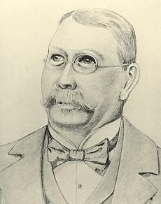 Na kresbě tužkou od Hanse Urbana st.