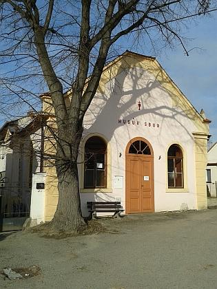 Bývalá synagoga v Hluboké nad Vltavou
