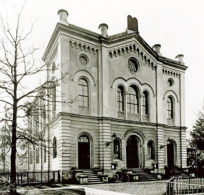 Linecká synagoga, slavnostně otevřená v roce 1877...