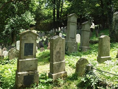 Židovský hřbitov ve Čkyni