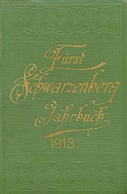 Obálka posledního ročníku Schwarzenberské ročenky, který ještě redigoval