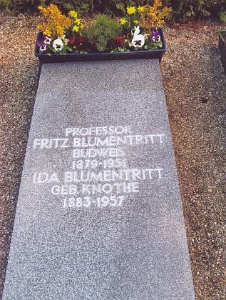 Hrob v Inglostadtu na snímku z března roku 2012
