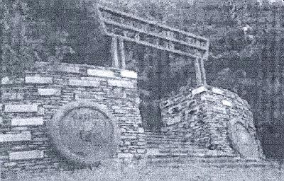 Památník zvaný Dichterstein, kde je vsazen i kámen s jeho jménem, stojí u rakouské obce Offenhausen blízko Welsu, byl však už roku 1999 zrušen pro neonacistické provokace s ním spojené