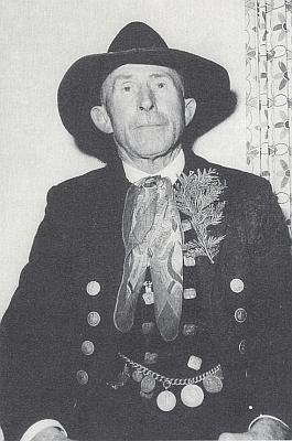 Sedlák Georg Vogel (1895-1962) ze zaniklých Srubů