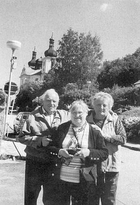 Sourozenci Böhmdorferovi, zde na posledním snímku Gerty Schöllhammerové z roku 2007 v Dobré Vodě u Nových Hradů