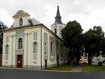 Hroznětínský kostel sv. Petra a Pavla