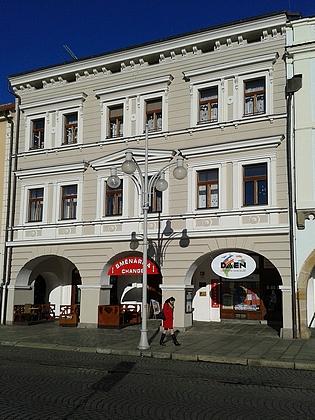 Rodný dům čp. 16 na českobudějovickém náměstí