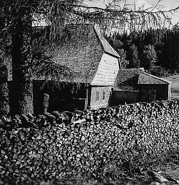 Někdejší Horní huť na Prášilech