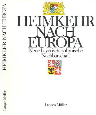 Obálka (1992, Langen-Müller, Mnichov) jeho knihy, z níž pochází textová ukázka
