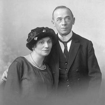 Jeho rodiče, otec Benedikt Braun senior a jeho o čtvrt století mladší druhá žena Anna, roz. Benischeková, kterou si vzal jako pětapadesátiletý vdovec