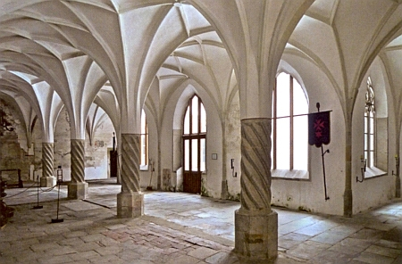 Ambit bývalého minoritského kláštera v Ceském Krumlově