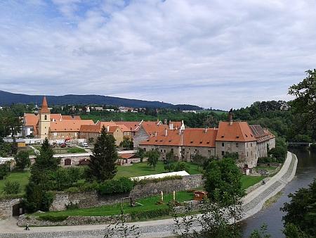 Celkový pohled na areál kláštera