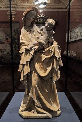 Krumlovská madona je od roku 1913 umístěna ve vídeňském Kunsthistorisches Museum