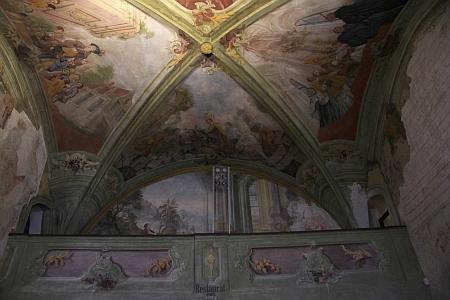 Fresky v kapli sv. Wolfganga