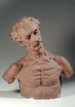 Takto jej zpodobil rakouský sochař abásník Gustinus Ambrosi (1893-1975)