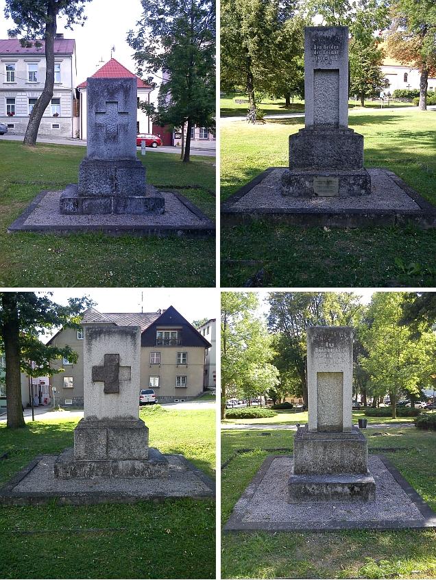Památník padlých v 1. světové válce na náměstí...