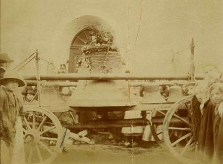 Rekvírování zvonů z hornoplánského kostela za 1. světové války...