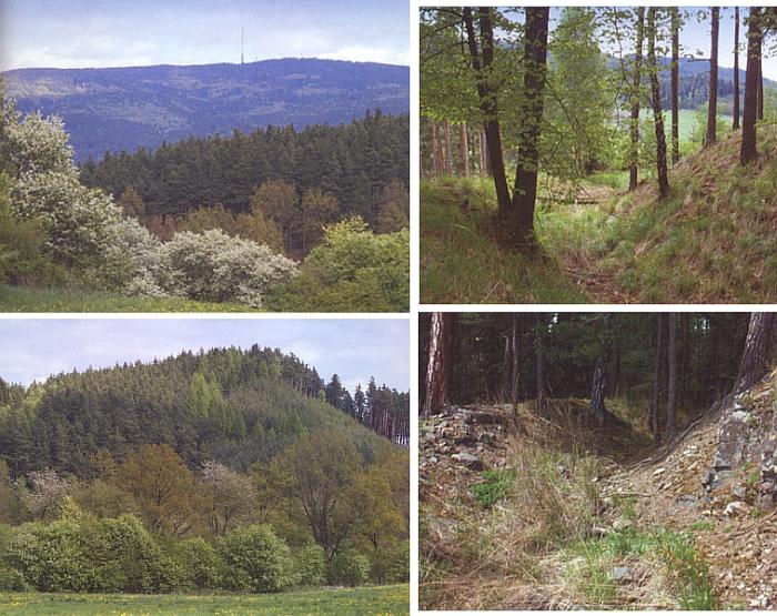 Několik záběrů lokality Weiherbühel u Boletic