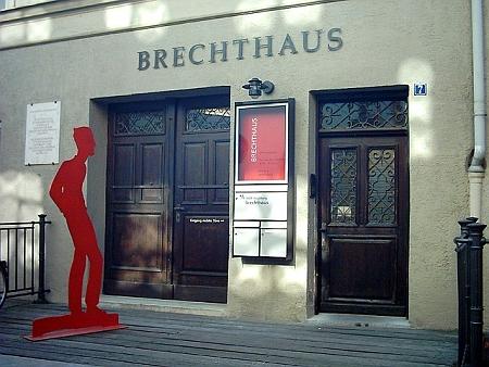 Rodný dům v bavorském Augsbugu...