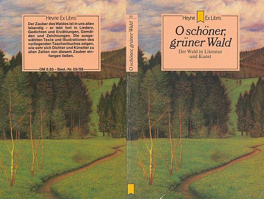 Obálka (1983) německé antologie básní o lese, kde ta jeho je závěrečná