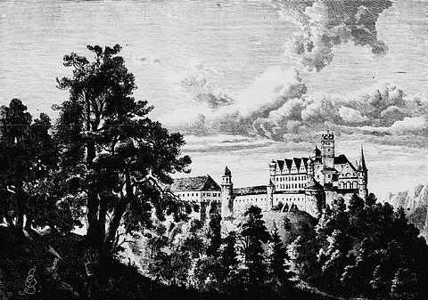 Pro časopis Světozor zachytil zámek Schwarzenberg v jižním Bavorsku