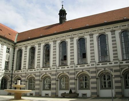 Kostel a knihovna kláštera ve Waldsassen