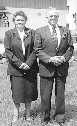Zlatá svatba jeho bratra Leopolda, jako on i švagra Antona Haase, veWarzenriedu roku 2004
